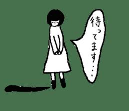 Sachiko. sticker #7940182