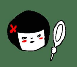 Sachiko. sticker #7940200