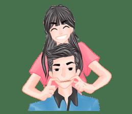 Romantic Couple sticker #7941780