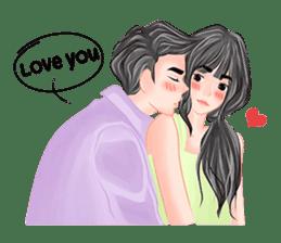 Romantic Couple sticker #7941787