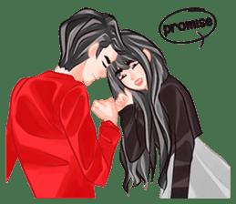 Romantic Couple sticker #7941788