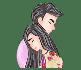 Romantic Couple sticker #7941795