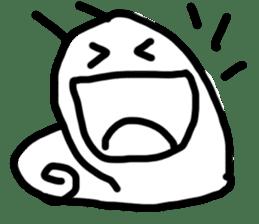Moody Snail sticker #7942783