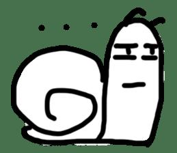Moody Snail sticker #7942786