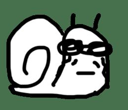 Moody Snail sticker #7942789