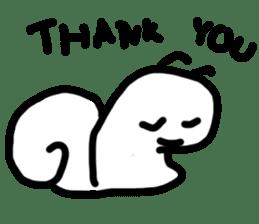 Moody Snail sticker #7942801
