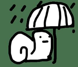 Moody Snail sticker #7942802