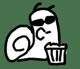 Moody Snail sticker #7942810