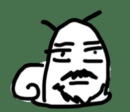 Moody Snail sticker #7942816