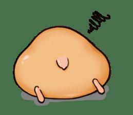 Chubby Mochi Hamster sticker #7947786