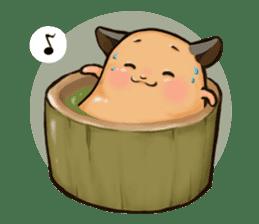 Chubby Mochi Hamster sticker #7947792