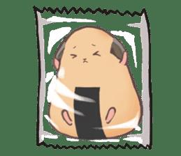 Chubby Mochi Hamster sticker #7947800