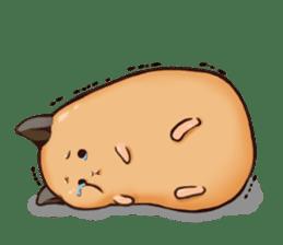 Chubby Mochi Hamster sticker #7947801