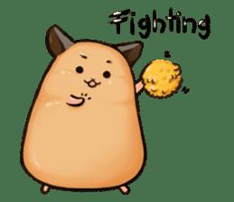 Chubby Mochi Hamster sticker #7947806
