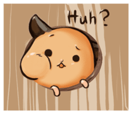 Chubby Mochi Hamster sticker #7947811