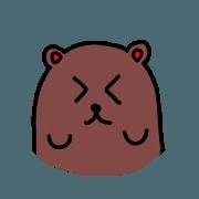 สติ๊กเกอร์ไลน์ My super bear 1 Animated sticker