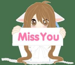 mari&mera pop up sweet love sticker #7953918