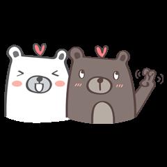 สติ๊กเกอร์ไลน์ เจ้าหมีอ้วน 2