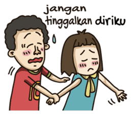 Jono & Jeni sticker #7964574