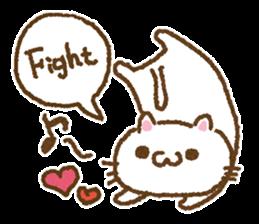 Cat to cheer sticker #7966362