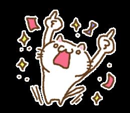 Cat to cheer sticker #7966385