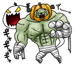 Jack-o'-Nyantan sticker #7971080
