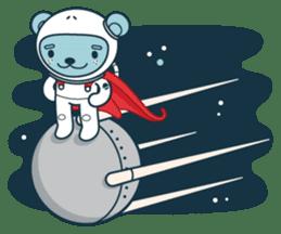 Jokukuma, the Space Bear sticker #7972725