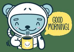 Jokukuma, the Space Bear sticker #7972726