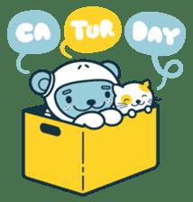 Jokukuma, the Space Bear sticker #7972728