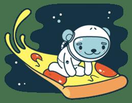Jokukuma, the Space Bear sticker #7972735