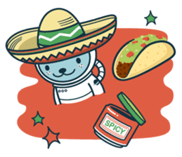Jokukuma, the Space Bear sticker #7972737
