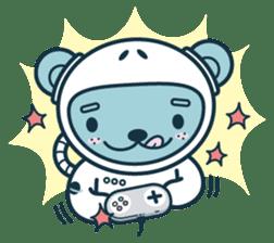 Jokukuma, the Space Bear sticker #7972738