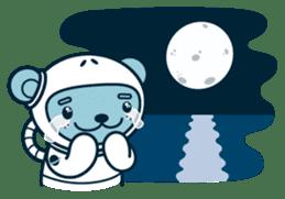 Jokukuma, the Space Bear sticker #7972739
