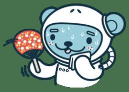 Jokukuma, the Space Bear sticker #7972741