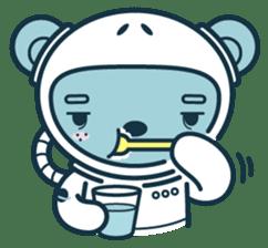 Jokukuma, the Space Bear sticker #7972743
