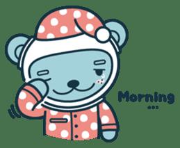 Jokukuma, the Space Bear sticker #7972745