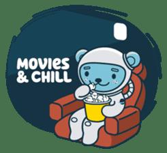 Jokukuma, the Space Bear sticker #7972747