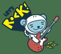 Jokukuma, the Space Bear sticker #7972749