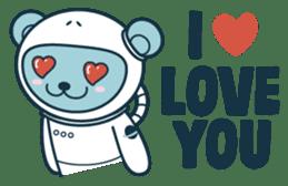 Jokukuma, the Space Bear sticker #7972751