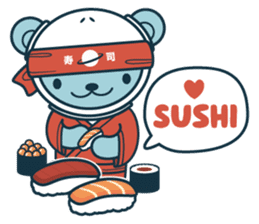Jokukuma, the Space Bear sticker #7972752