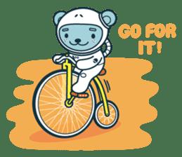 Jokukuma, the Space Bear sticker #7972754
