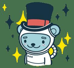 Jokukuma, the Space Bear sticker #7972757
