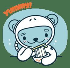 Jokukuma, the Space Bear sticker #7972758