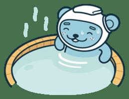 Jokukuma, the Space Bear sticker #7972759