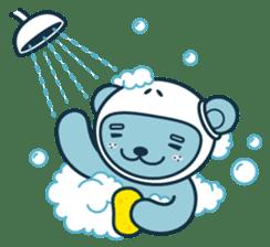 Jokukuma, the Space Bear sticker #7972761