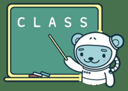Jokukuma, the Space Bear sticker #7972762