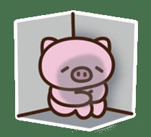 Pig moderate honorific sticker #7973877