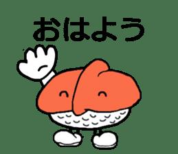 Cute Sushi talks! sticker #7975564