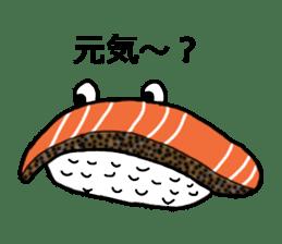 Cute Sushi talks! sticker #7975567
