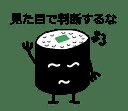 Cute Sushi talks! sticker #7975577